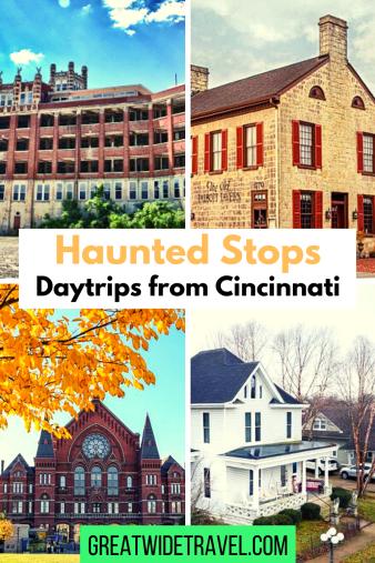 Haunted stops in Kentucky, Ohio, and Indiana starting in Cincinnati
