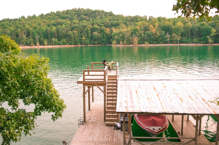 norris lake swimming