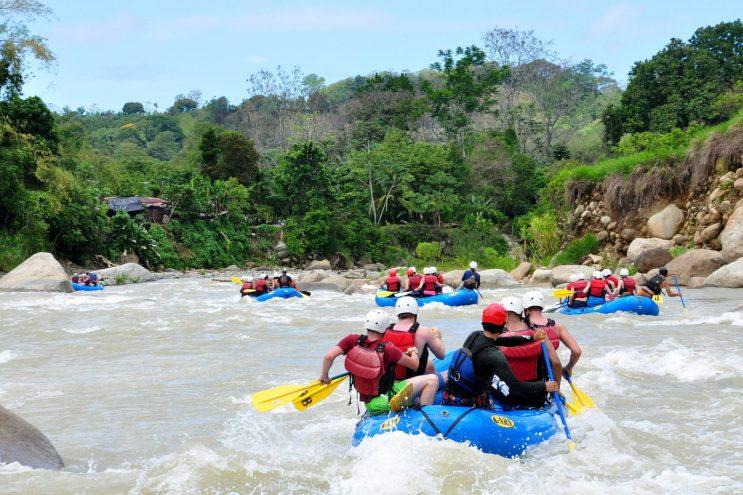 rafting costa rica arenal
