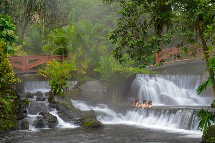 tabacon thermal spa hot spring