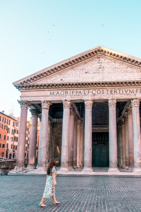 Pantheon, Rome, Instagram Spots