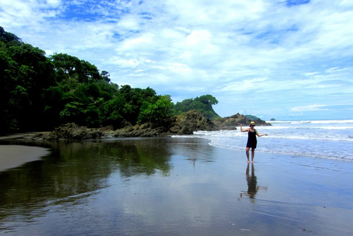best beaches costa rica dominical