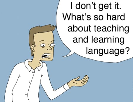 What's so hard about learning languages?