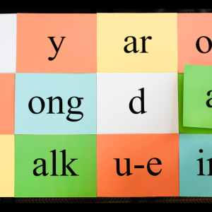 Blocks of syllables