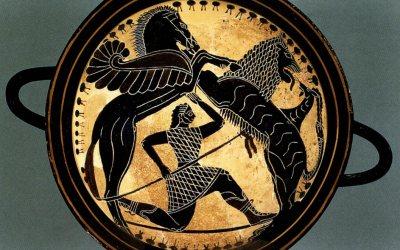 Los límites entre la mitología griega y su historia