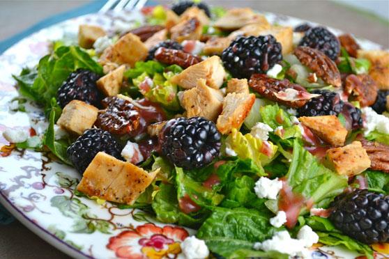 blackberry chix salad
