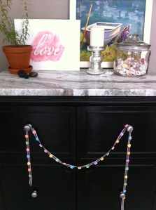 diy Sweetheart candy garland | yummy!