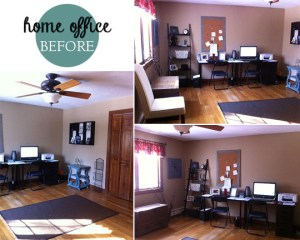 home office redo | a design collaboration
