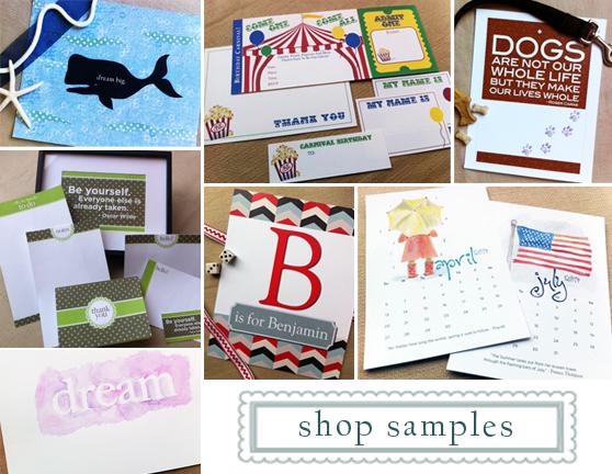 shop samples