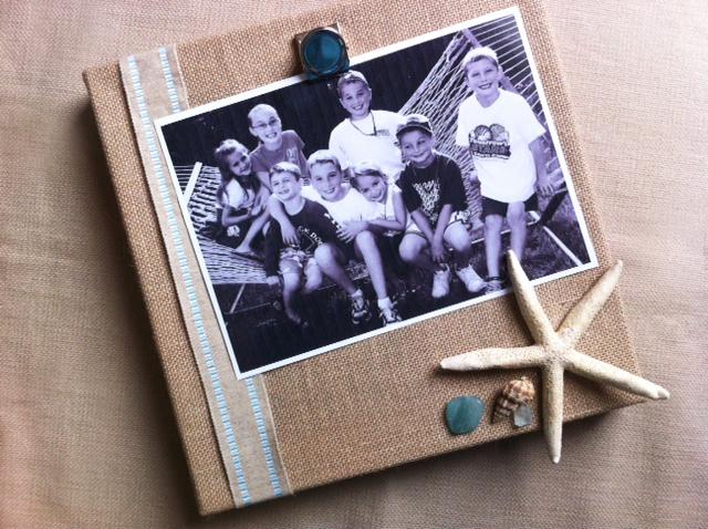 burlap frame