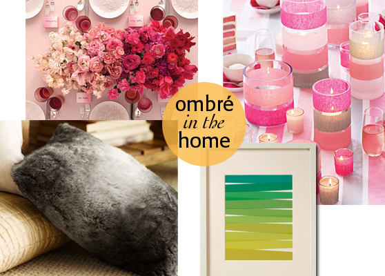 ombre in home
