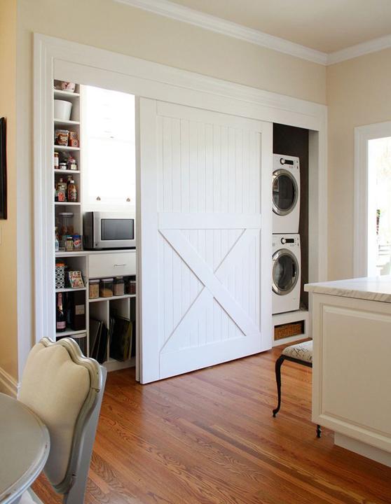 Laundry Room/closet Doors | Inspiration