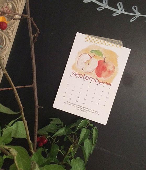 calendar & tape