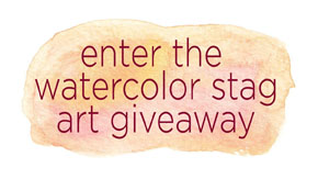 stag art giveaway button sm