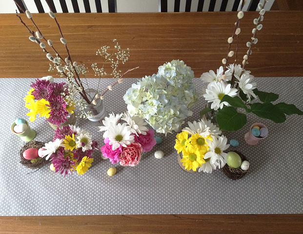 spring centerpiece 4