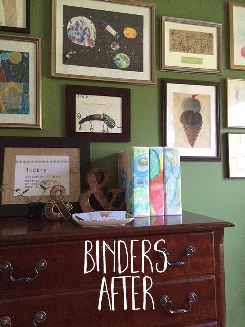 binders after