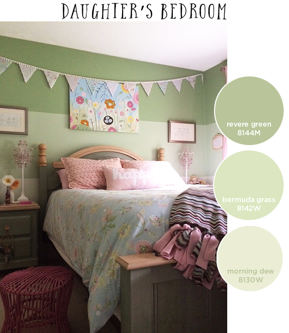 daughters room paint