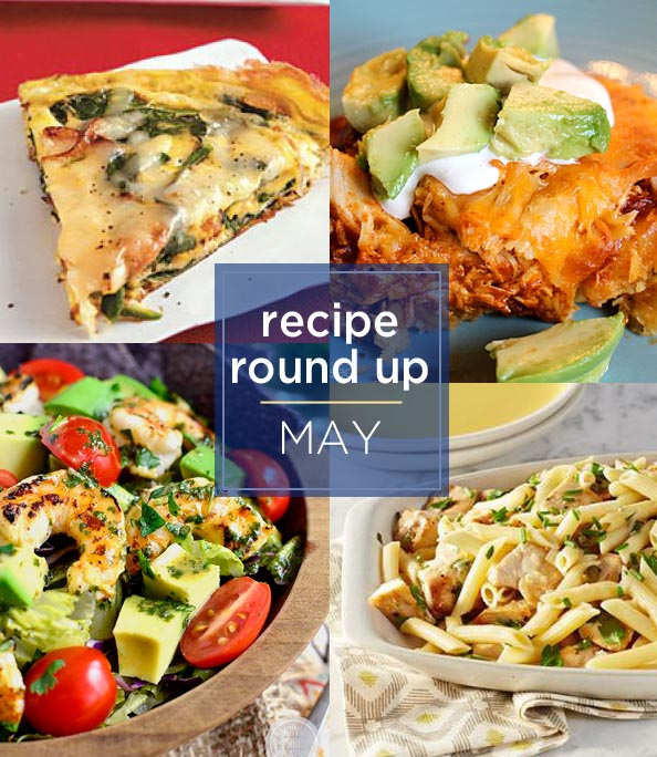 recipe round up May