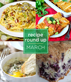 recipe round up March sm