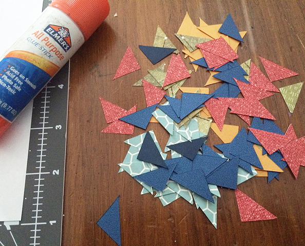 cut paper initial_triangles