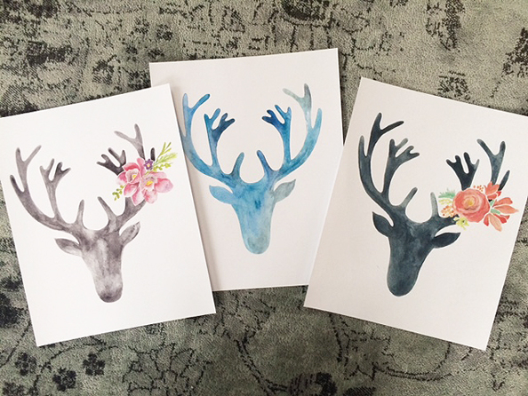 last minute prints_stags