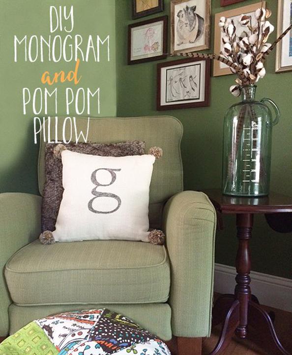 monogram-pom-pom-pillow-text
