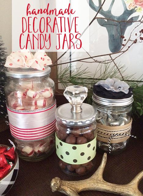 Decorative Jars Gorgeous Handmade Decorative Candy Jars Inspiration