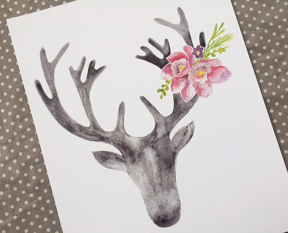 stag prints_gray pink