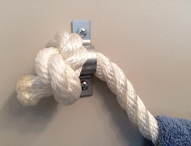 rope towel holder_detail