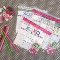tic-tac-toe Valentine's idea & freebie
