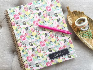 my simple DIY notebook & organizer