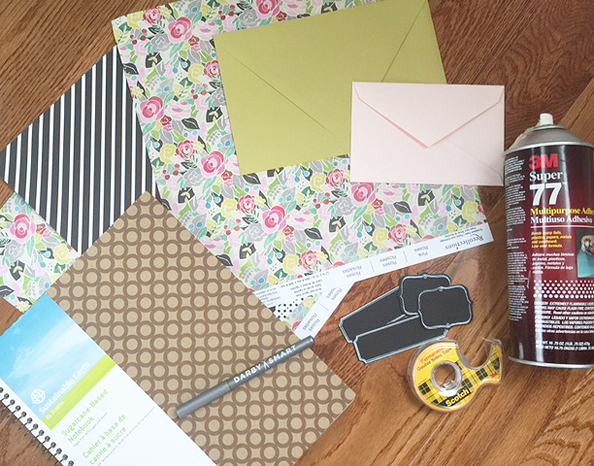 notebook diy_materials