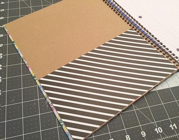 notebook diy_pocket cover