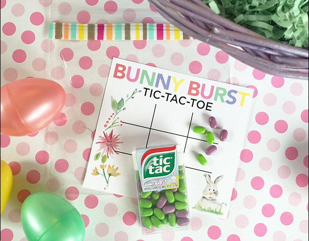 easter tic tac toe free game card