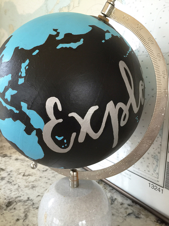greco design_painted globe_detail 3