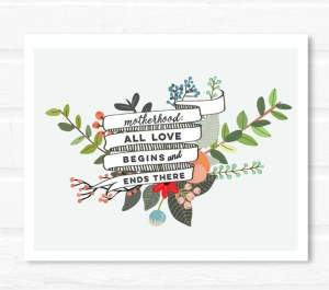meaningful art prints for Mom
