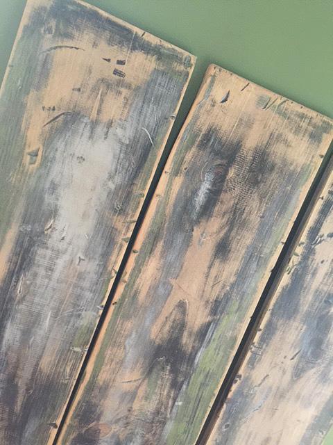 bookshelf wood final detail