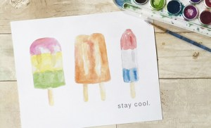 stay cool {new summer art}