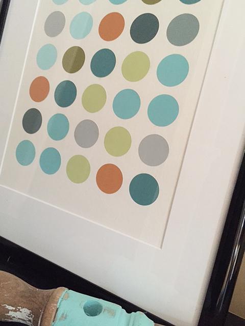 paint chip circles_detail