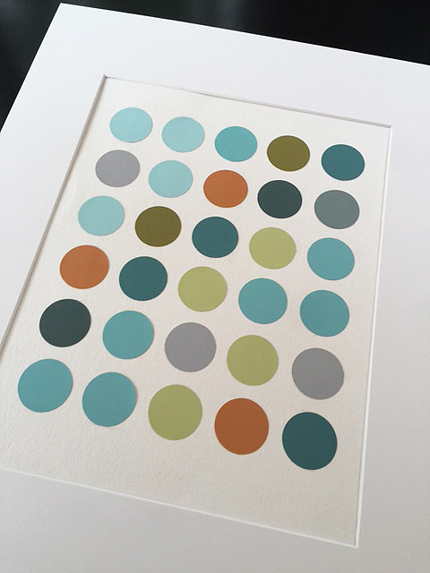 paint chip circles_matte