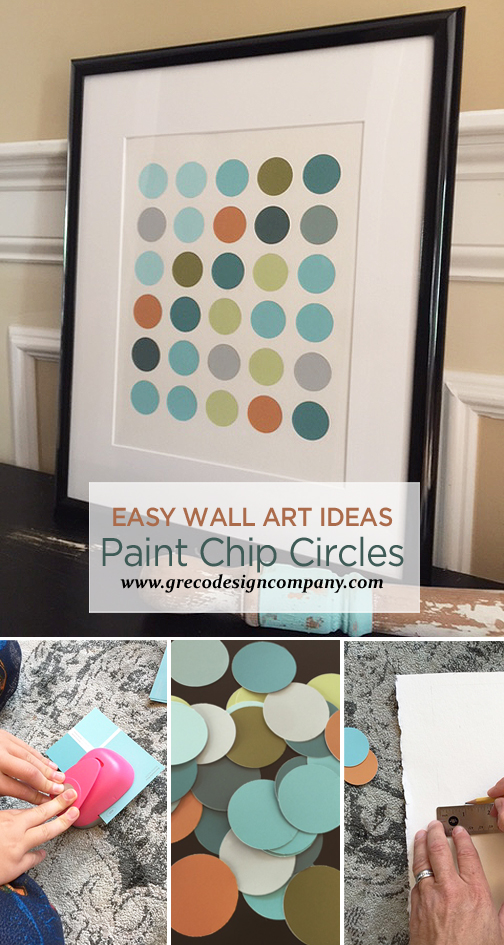 paint chip circles_pinterest