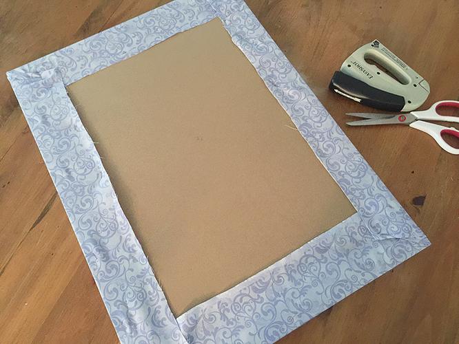 ribbon board_fabric wrap
