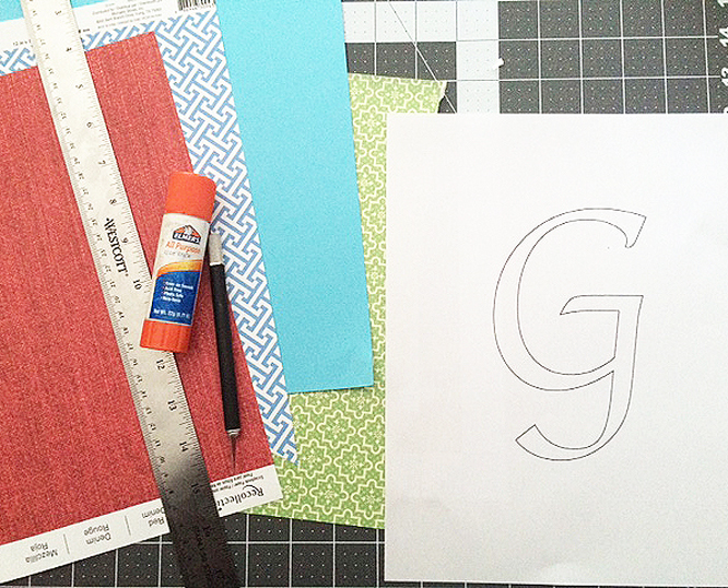 cut paper g papers