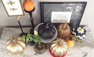 how to add simple fall style to your home