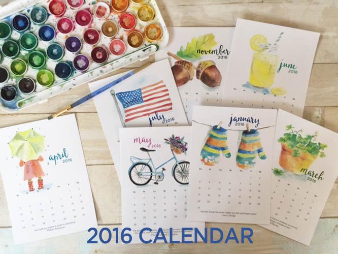 calendar-samples