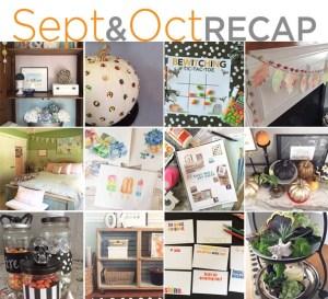 September & October recap