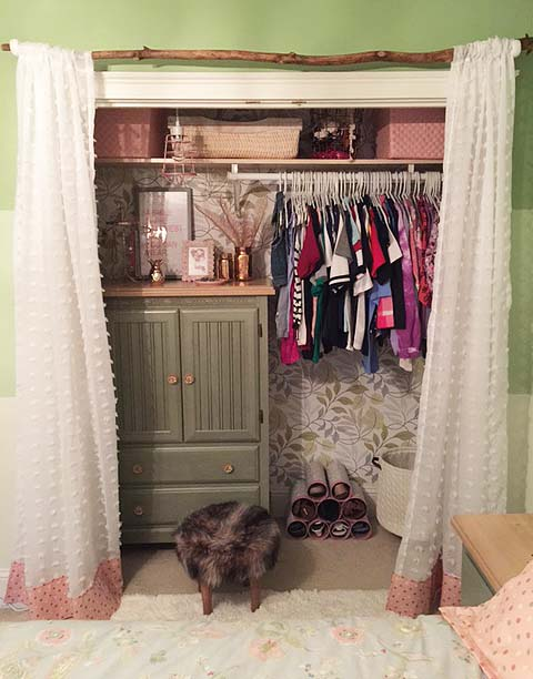 fall favorite - closet makeover