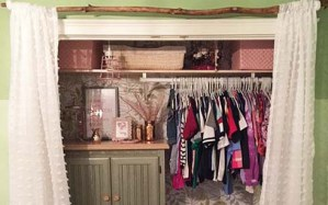 One Room Challenge™ – Closet Makeover Final Reveal