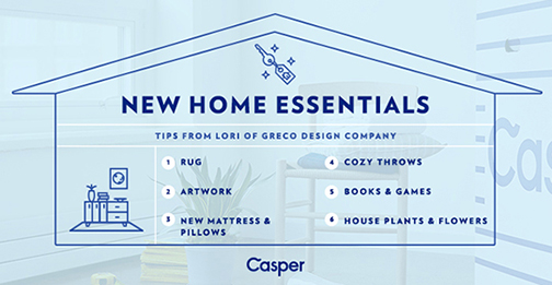six essentials for a welcoming home