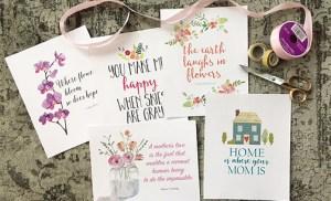 Mother's Day gift idea – digital art prints
